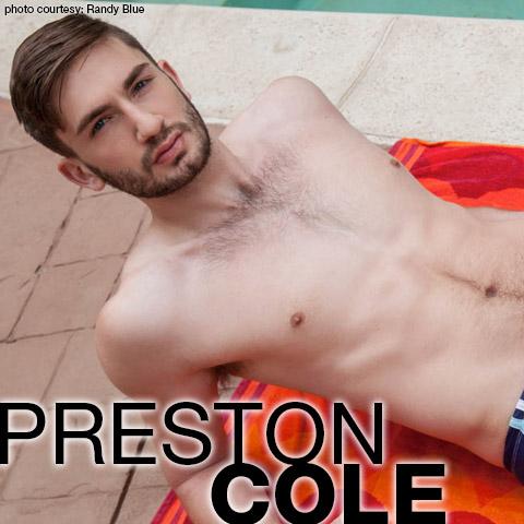 Preston Cole Uncut Big Dick Randy Blue American Gay Porn Star