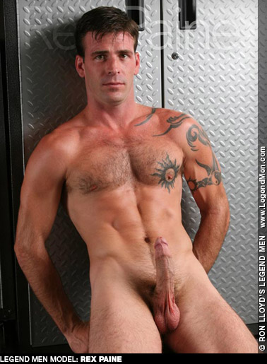 Rex Paine American Gay Porn Star 131401 gayporn star Ron Lloyd LegendMen.com Body Image Productions