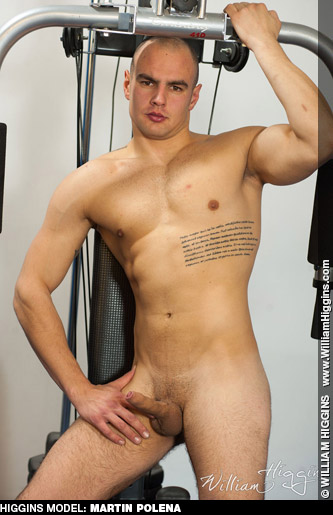 Martin Polena William Higgins Czech Tattoo Muscle Solo Performer 131442 gayporn star