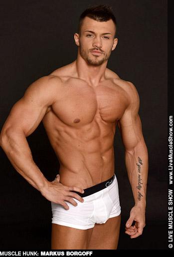 Markus Borgoff Live Muscle Bodybuilder performer 131654 gayporn star