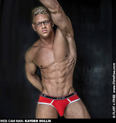 Kayden Hollis Blond Muscle Hunk Flirt 4 Free Live Sex and Solo Performer 131742 gayporn star