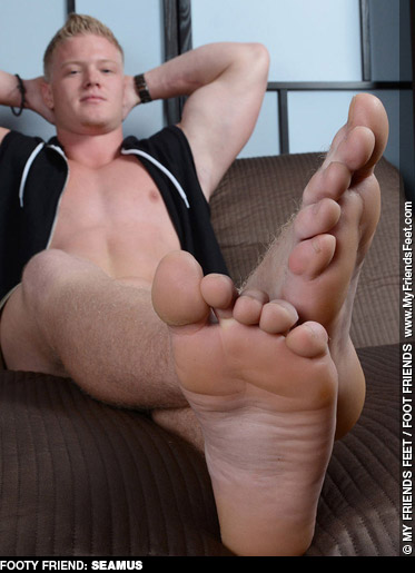 Seamus Blond Muscle My Friends Feet model 131845 gayporn star