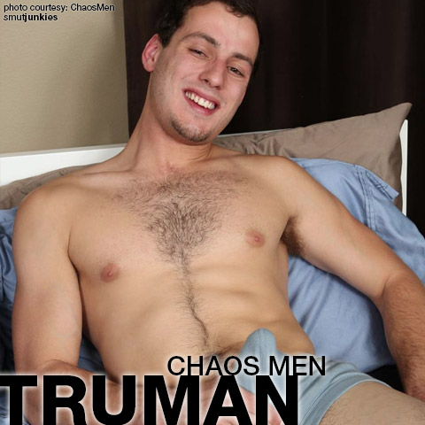 Truman ChaosMen Amateur Gay Porn Bareback 132070 gayporn star