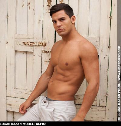 Alfio Handsome Italian Lucas Kazan gay porn performer 132101 gayporn star