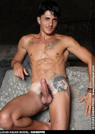 Giuseppe Handsome Italian Lucas Kazan gay porn performer 132102 gayporn star