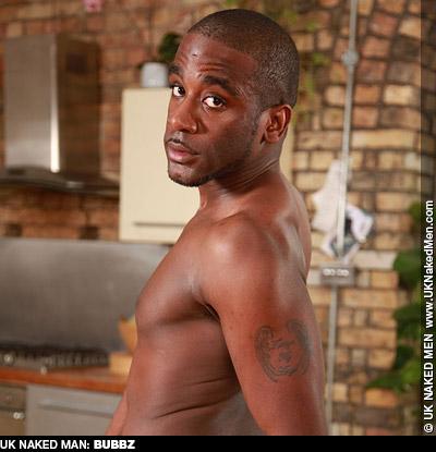 Bubbz UK Naked Men Black Porn Model Gay Porn 132129 gayporn star