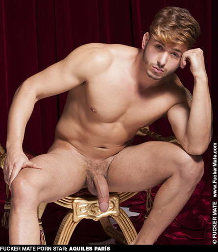 Aquiles París Drop Dead Gorgeous Spanish Gay Porn Hunk Gay Porn 132274 gayporn star