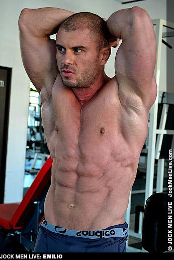 Emilio Muscle Jock Live Performer Gay Porn 132296 gayporn star