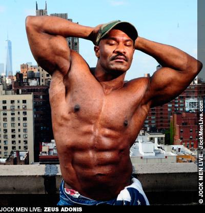 Zeus Adonis Muscle Jock Live Performer Gay Porn 132298 gayporn star