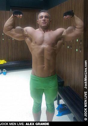 Alex Grande Muscle Jock Live Performer Gay Porn 132302 gayporn star