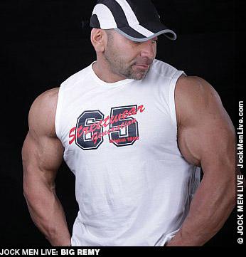 Big Remy Muscle Jock Live Performer Gay Porn 132303 gayporn star