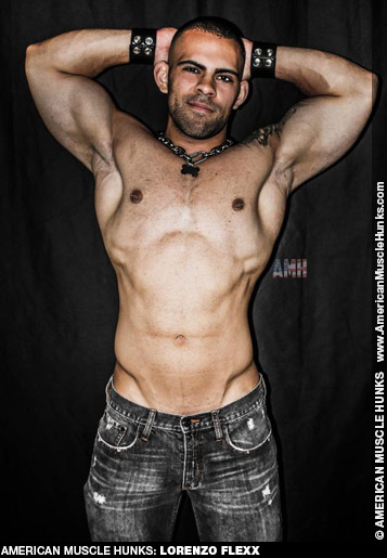 Lorenzo Flexx American Muscle Hunk Gay Porn Star Gay Porn 132321 gayporn star