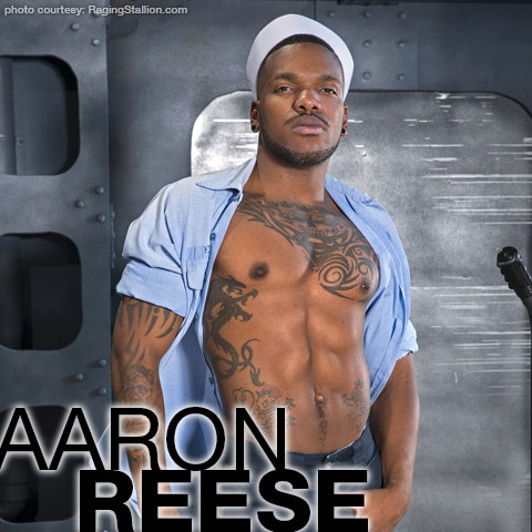 Aaron Reese Hung Black American Gay Porn Star Gay Porn 132332 gayporn star