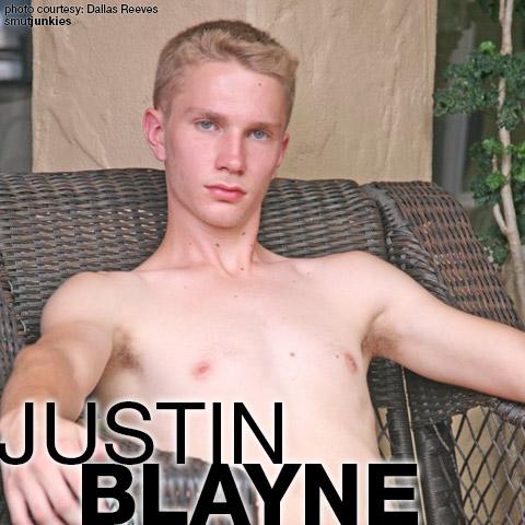 Justin Blayne Blond Hung Young American Gay Porn Star Gay Porn 132441 gayporn star
