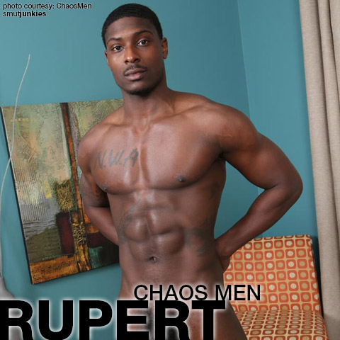 Rupert Black Massively Hung ChaosMen Amateur Gay Porn Bareback 132450 gayporn star