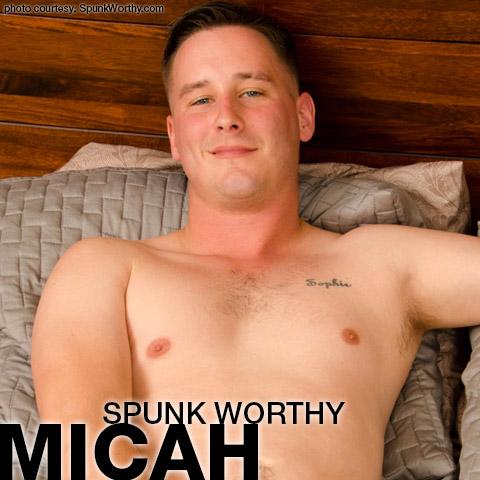 Micah SpunkWorthy American Gay Porn Amateur Gay Porn 132528 gayporn star