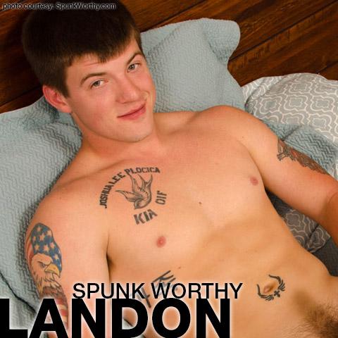 Landon SpunkWorthy American Gay Porn Amateur Gay Porn 132529 gayporn star
