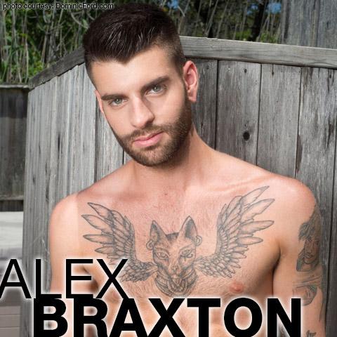 Alex Braxton Scruffy Tattooed American Gay Porn Star Gay Porn 132557 gayporn star