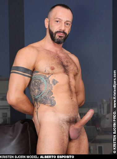 Alberto Esposito Handsome Italian Daddy Kristen Bjorn Gay Porn Star Gay Porn 132560 gayporn star