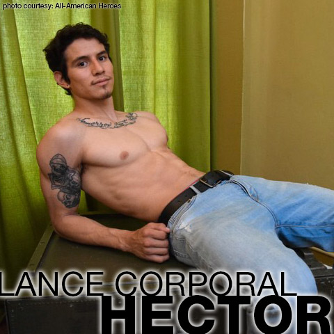 Lance Corporal Hector American Military Gay Porn Star Amateur 132579 gayporn star