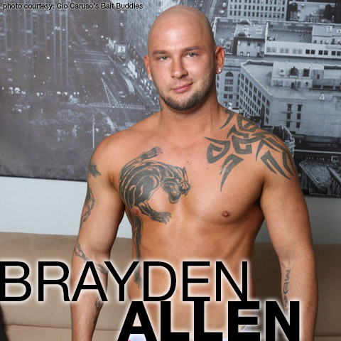 Brayden Allen Smooth Shaved Tattooed American Gay Porn Star & Escort Gay Porn 132591 gayporn star Gio Caruso's Bait Buddies
