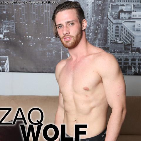 Zaq Wolf Kinda Handsome Lean Muscle American Gay Porn Star Gay Porn 132592 gayporn star Gio Caruso's Bait Buddies