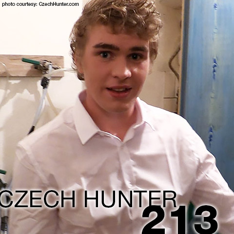 Czech Hunter 213 CzechHunter Guy Gay Porn 132674 gayporn star Patrik Maly