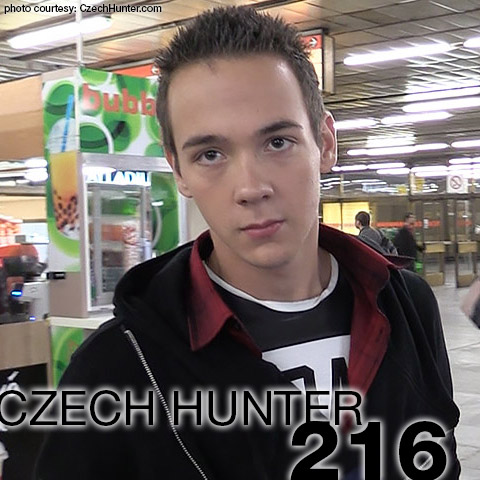 Czech Hunter 216 CzechHunter Guy Gay Porn 132677 gayporn star