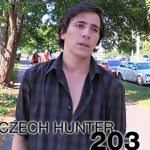 Czech Hunter 203 CzechHunter Guy Gay Porn 132682 gayporn star Czech Hunter 203 Milan Rezac CzechHunter Guy