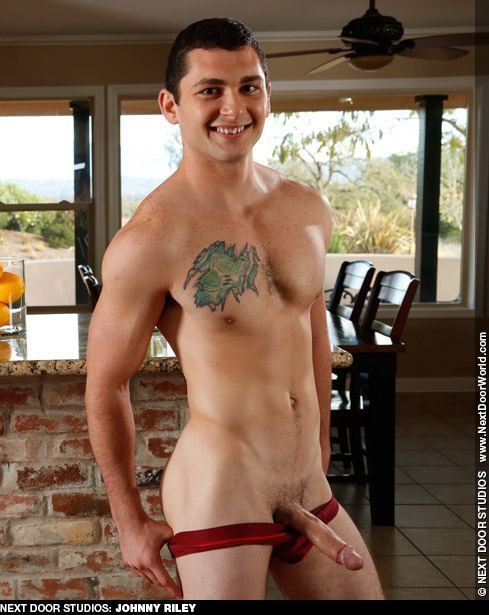 Johnny Riley Next Door Studios Uncut American Gay Porn Star Gay Porn 132944 gayporn star