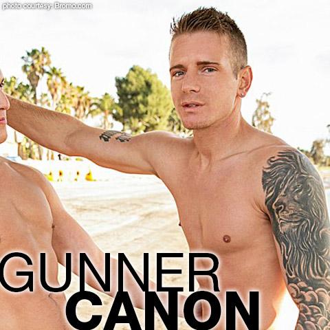 Gunner Canon Blond Tattooed American Gay Porn Star Gay Porn 133062 gayporn star Bromo bareback