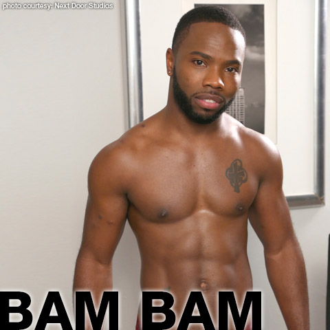 Bam Bam Hung Handsome Black American Gay Porn Star Gay Porn 133068 gayporn star