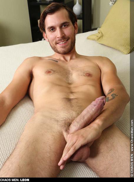 Leon Scruffy Hung Uncut ChaosMen Amateur Gay Porn Guy Bareback 133103 gayporn star