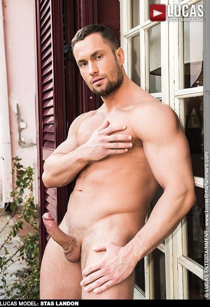 Stas Landon Ukrainian Muscle Stud Lucas Entertainment Gay Porn Star Gay Porn 133115 gayporn star