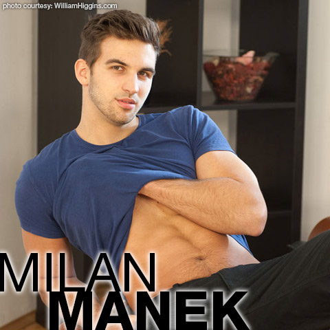 Milan Manek Handsome William Higgins Czech Gay Porn Star 133237 gayporn star