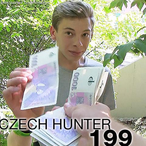 Czech Hunter 199 CzechHunter Guy Gay Porn Young Blond Czech Amateur Guy has Gay Sex for money 133265 gayporn star
