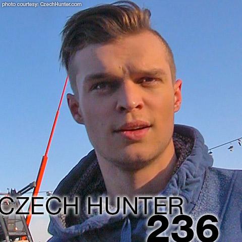 Czech Hunter 236 Handsome Young Blond Czech Amateur Guy has Gay Sex for money Gay Porn 133260 gayporn star Petr Brada