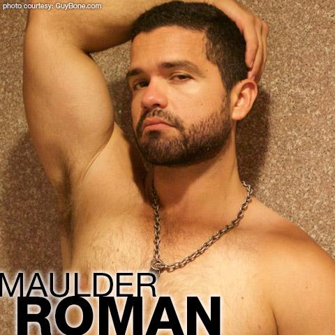 Maulder Roman Latino GuyBone Gay Porn Dude Gay Porn 133704 gayporn star amateur Scruffy Otter