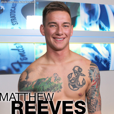 Matthew Reeves Cute tattooed American Military Active Duty Amateur Gay Porn 133824 gayporn star