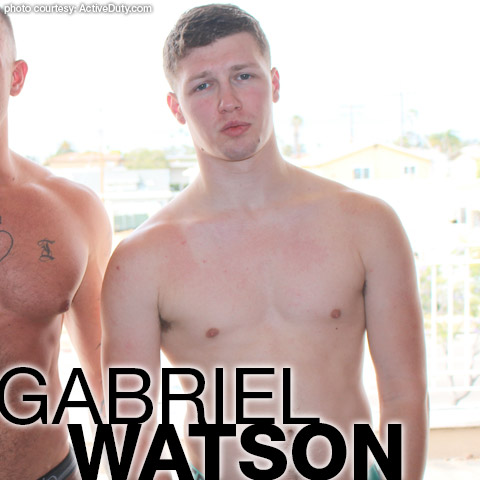 Gabriel Watson American Military Active Duty Amateur Gay Porn 133831 gayporn star