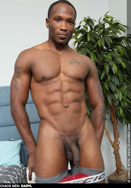 Daryl Monster Cock Black ChaosMen Amateur Gay Porn Guy Bareback 133936 gayporn star