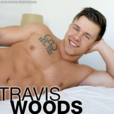 Travis Woods Handsome Muscle College Jock Gay Porn GayHoopla Gay Porn 133948 gayporn star