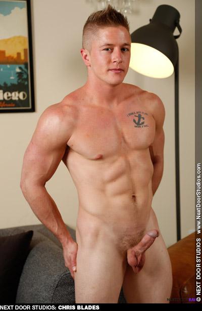 Chris Blades Blond Handsome Jock American Gay Porn Star Gay Porn 134339 gayporn star
