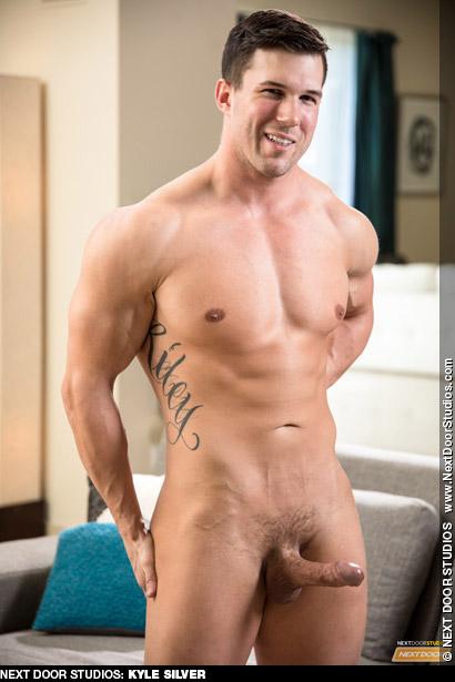 Kyle Silver Next Door Studios Muscle Jock Gay Porn Solo Gay Porn 134493 gayporn star