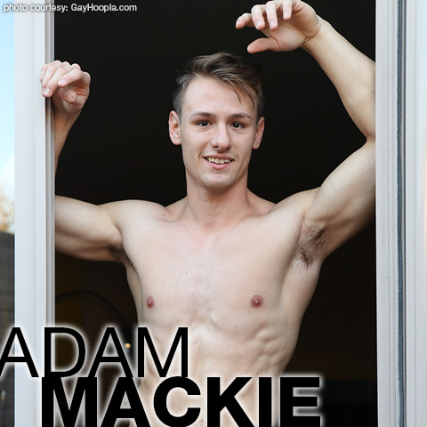 Adam Mackie Cute Blond College Jock Gay Porn GayHoopla Gay Porn 134503 gayporn star