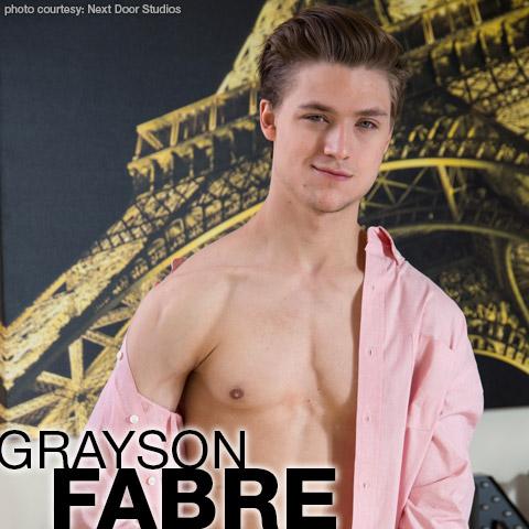 Grayson Fabre Sexy Blond Jock Gay Porn Star Gay Porn 134511 gayporn star