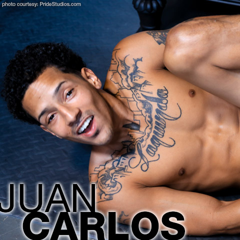 Juan Carlos Handsome Tattooed Black Gay Porn Star Gay Porn 134672 gayporn star