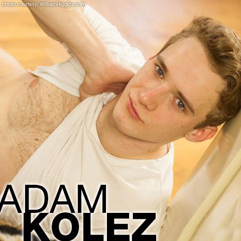 Adam Kolez Handsome Blond William Higgins Czech Gay Porn Star 134853 gayporn star