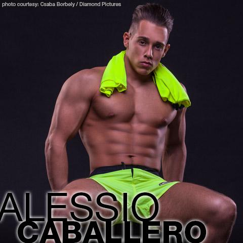 Alessio Caballero Handsome Hungarian Gay Porn Web Cam Star Gay Porn 134991 gayporn star