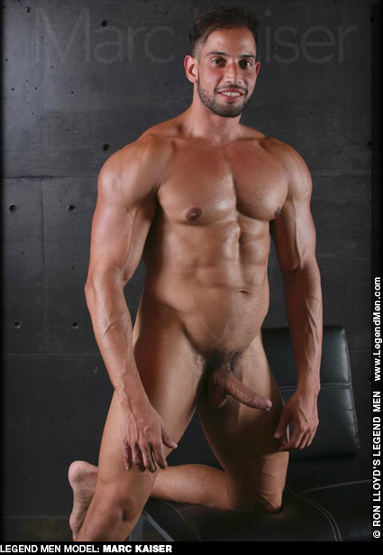 Marc Kaiser Handsome Uncut Muscle Ron Lloyd Legend Model & Solo  Gay Porn Star Gay Porn 135241 gayporn star